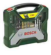 Bosch X-Line 50 piece Mixed Drill bit set