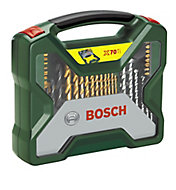 Bosch X-Line 70 piece Mixed Drill bit Set
