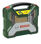 Bosch X-Line 70 piece Mixed Drill bit set