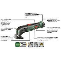 Bosch 10.8V 194W Cordless Multi tool PMF 10.8 LI