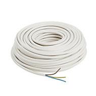 Nexans NX100 White 3 core Multi-core cable 2.5mm² x 50m