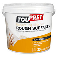 Toupret Rough surface Ready mixed Smoothover finishing plaster 20kg
