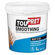 Toupret Fine finish Ready mixed Finishing plaster, 1kg Tub