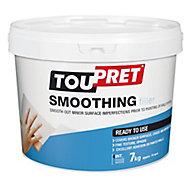 Toupret Fine finish Ready mixed Finishing plaster, 7kg Tub