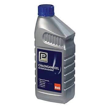 B&Q Biodegradable chainsaw oil 1L