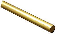 FFA Concept Brass Round Metal rod (L)1m (Dia)4mm