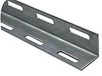 Varnished Steel Corner (H)27mm (W)27mm (L)1m