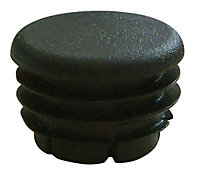 FFA Concept PVC Black End fitting, Pack of 10