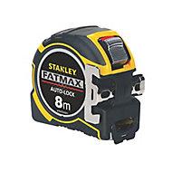 Stanley FatMax Autolock Tape measure, 8m