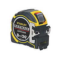 Stanley FatMax Autolock Tape measure, 8m