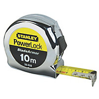 Stanley Powerlock Tape measure, 10m