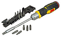 Stanley FatMax 12 Piece Multi-bit ratchet screwdriver Set
