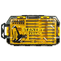 "Stanley 30 piece ¼"" Socketry set"
