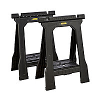 Stanley 362kg Foldable Saw horse, Pack of 2