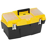 """Stanley Cantilever 19"""" Plastic Toolbox"""