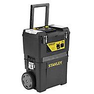 Stanley Black Plastic Mobile workshop (H)625mm (W)255mm (L)445mm