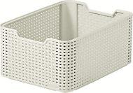 Curver Vintage white rattan effect Basket