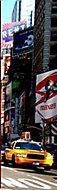 Graham & Brown Multicolour New York taxi Mural