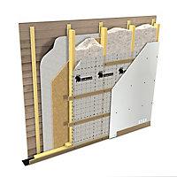 Soprema Vapour barrier Insulation roll, (L)20m (W)1.5m (T)0.2mm