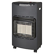 Greengear Black & grey 4.2kW Mobile gas heater