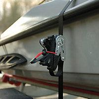 Master Lock 3066EURDAT Polyester Ratchet strap set
