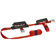 Master Lock Red & black 5.5m 2 person carry strap