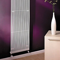 Acova Striane Vertical Radiator, White (W)190mm (H)1000mm