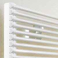 Acova Striane Horizontal Designer radiator White (H)456 mm (W)1400 mm