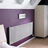 Acova Striane Horizontal Designer radiator White (H)608 mm (W)900 mm