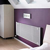 Acova Striane Horizontal Designer radiator White (H)608 mm (W)1200 mm