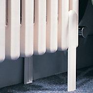 Acova Column Radiator floor support (H)100mm (W)136mm