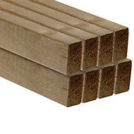 C16 CLS Treated Timber (T)38mm (W)63mm (L)2400mm Pack of 8