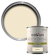 Colours Magnolia Eggshell Metal & wood paint, 0.75L