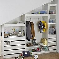 Form Perkin White Hallway Internal Storage kit (W)2200mm (D)480mm