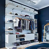 Form Oppen White Large Bedroom Storage kit (H)2083mm (D)548mm