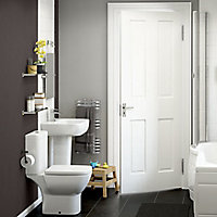 Cooke & Lewis Santoro Close-coupled toilet & full pedestal basin