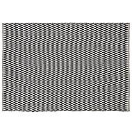 Colours Haillie Chevron Black & white Rug (L)1.7m (W)1.2m