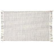 Colours Lianna Tie dye Grey Rug (L)1.2m (W)0.8m