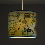 Kids Colours Pirate Multicolour Light shade (D)250mm