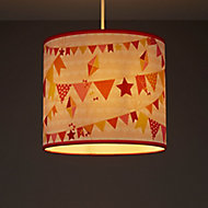 Kids Colours Bunting Multicolour Light shade (D)250mm