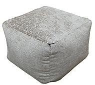 Primeur Elite Plain Bean bag cube, Mink