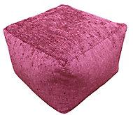 Primeur Elite Plain Bean bag cube, Wine