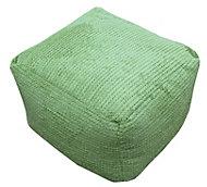 Bubble Plain Lime Bean bag cube