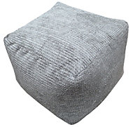 Bubble Plain Mink Bean bag cube