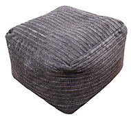 Metropolis Plain Chocolate Bean bag cube