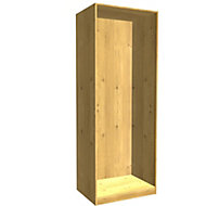 Form Darwin Oak effect Tall wardrobe cabinet (H)2356mm (W)750mm (D)566mm