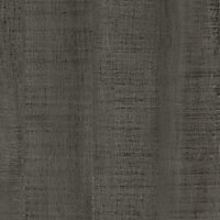 12.5mm Exilis Brasero black Wood effect Square edge Laminate Worktop (L)2.4m (D)425mm