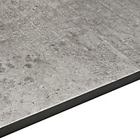 Exilis Woodstone Grey Vanity worktop, (W)425mm