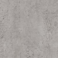 12.5mm Exilis Woodstone Grey Square edge Laminate Worktop (L)1.5m (D)425mm