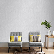 Silver effect Sari Wallpaper